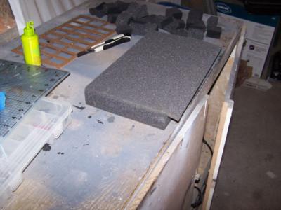Foam Tray: Back is Applied