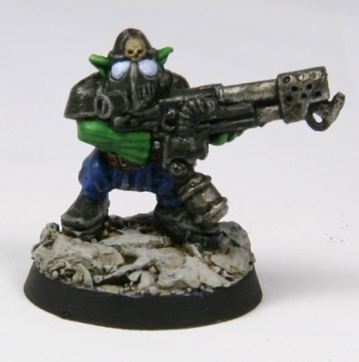 Infantry Grot with Flamer