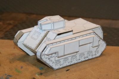 Simple Turret on Tank