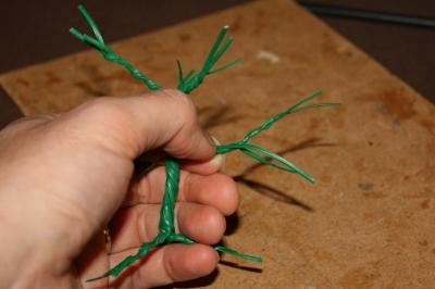 Miniature Trees - Making the Trees #7