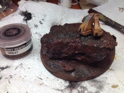 Pigments for Earth Basing #2