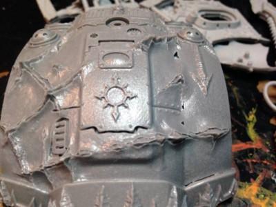 Chaos Knight Titan - Slick Carapace