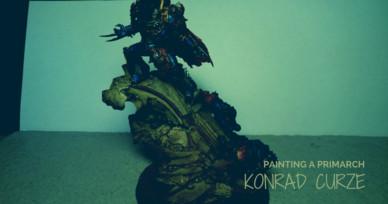Painting a Primarch: Konrade Curze