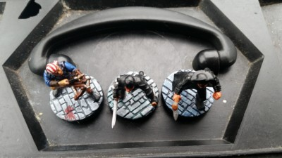 Painted Cobblestone Bases