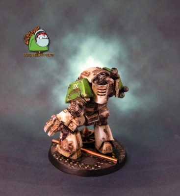 Death Guard Contemptor #3