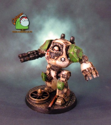 Death Guard Contemptor #1