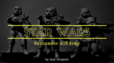 Themed Workbench Part Two – Star Wars Themed 40K Army